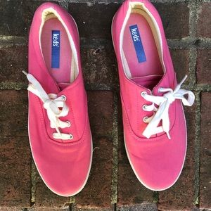 Keds Bright Pink Women's Sneakers